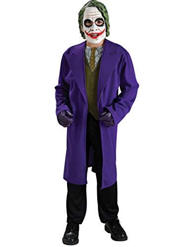 Costume Carnevale / Halloween da personaggio Joker di Batman film Bambino Small