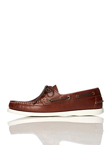 find. Iconic Zapatos Náuticos Hombre, Marrón (Cognac), 39/40 EU
