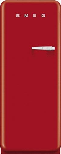 Smeg CVB20LR1 congelatore Libera installazione Verticale Rosso 170 L A+