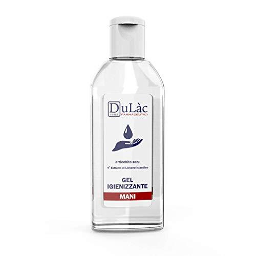 Dulàc - Gel Igienizzante Mani - per pulire ed igienizzare le mani in assenza di acqua (1 Pack 100 ml)