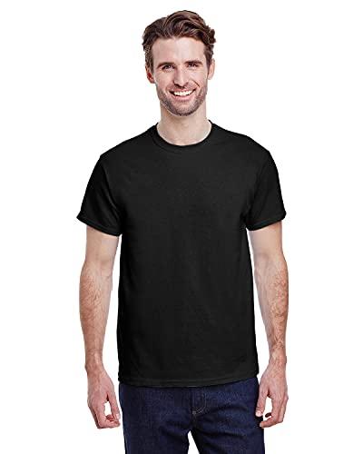 Gildan Men's G2000 Ultra Cotton Adult T-shirt, Black, Large