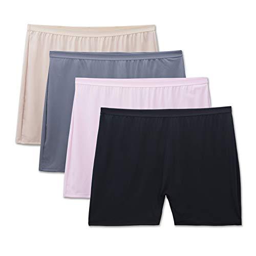Fruit of the Loom Women's Fit for Me Plus Size Underwear, Slip...