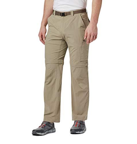 Columbia Men's Silver Ridge Convertible Pants, Tusk, 30