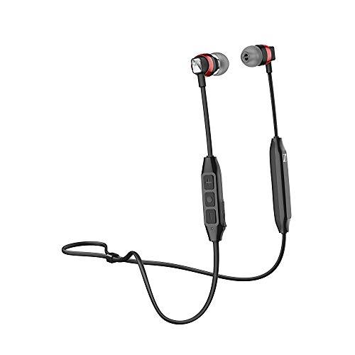 (Renewed) Sennheiser CX 120BT Wireless Bluetooth In Ear Headphone with Mic (Black)