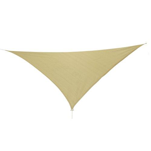 10T Emerson Dreieck Tarp 5m Sonnensegel wetterbeständig, atmungsaktiv, 90{9cc364384106ad5d4db2954c93c89657a5d78fd24a6455712d4a5819a6c24fb1} UV Schutz, Sonnenschirm
