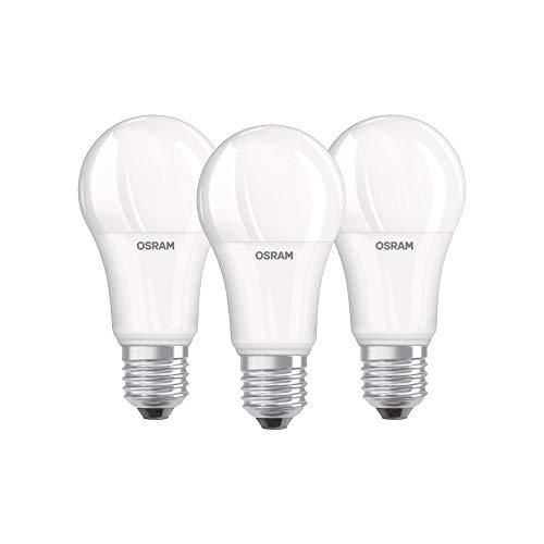 Osram Base CLAS a Lampada LED E27, 14 W, Luce Calda, 3 Lamp, 3 unit