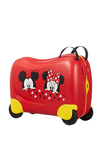 Samsonite Dream Rider Disney Valigia per Bambini, 51 cm, 28 L, Rosso (Mickey/Minnie Peeking)