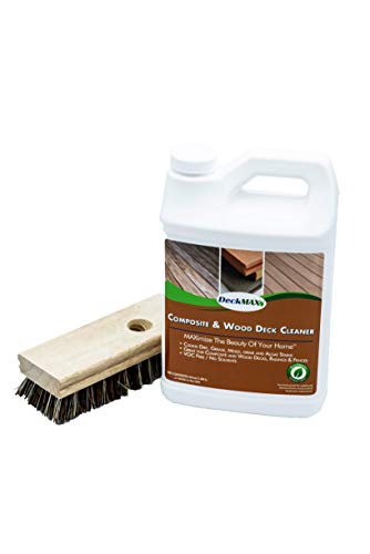 DeckMAX Composite & Wood Deck Cleaner Kit -the nations leading wood & composite deck cleaner recommended by Manufacturers, Distributors & Contractors!