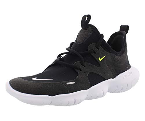 Nike Unisex-Kinder Free Rn 5.0 (Gs) Leichtathletikschuhe, Mehrfarbig (Black/White/Anthracite/Volt 000), 36.5 EU