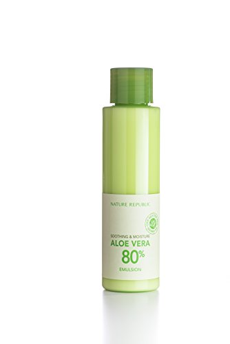 Nature Republic Soothing & Moisture Aloe Vera 80% Emulsion, 160 Gram