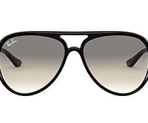 Ray-Ban Rb4125 Cats 5000 Aviator Sunglasses 36