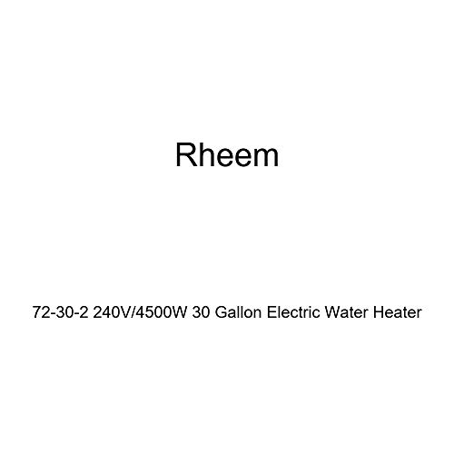 Rheem 72-30-2 240V / 4500W 30 Gallon Electric Water Heater