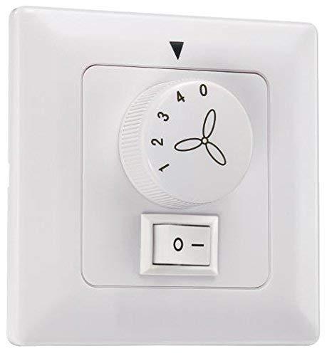 Westinghouse Lighting 78801, Comando a parete per ventilatore a soffitto e luce, Bianco