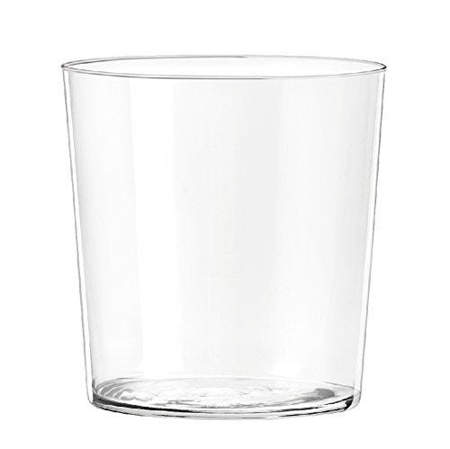 H&H Starck Set 6 Bicchieri Acqua, Vetro Ultrasottile, 350 ml