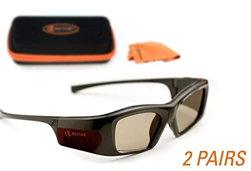Glasses. Rechargeable. Twin-Pack