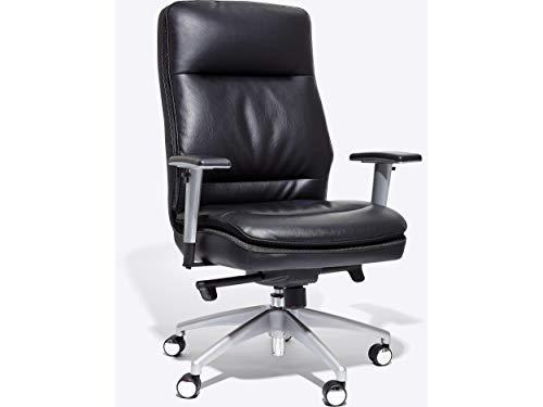 Beautyrest 2829385 Beautyrest Platinum Abbot Faux Leather Task Chair Black (49608)