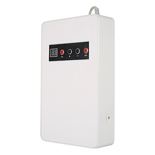 Asixx Generatore di ozono, 220V 50Hz 600mg / h Generatore di ozono Ozonizzatore Famiglia di Acqua Cibo sterilizzatore vegetale(Bianco)