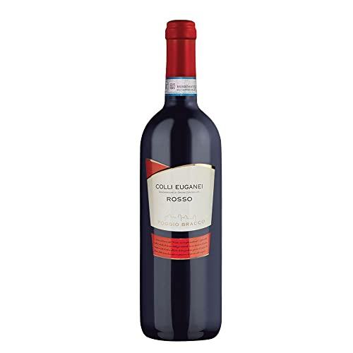 Poggio Bracco - Vino Rosso Colli Euganei DOC - Veneto fermo da pasto | Bottiglia da 750 ml