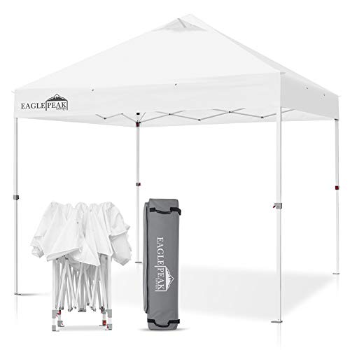 EAGLE PEAK 10' x 10' Commercial Canopy Tent Pop Up Instant...