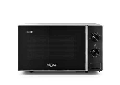 Whirlpool MWP 101 SB forno a Microonde Cook 20, 20 litri, Silver Black