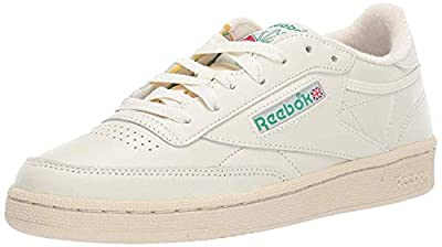 DURABLE AND LIGHTWEIGHT MATERIAL: These sneakers feature soft garment leather upper for full-foot support with terry lining on tongue top and heel for comfort with vintage woven Reebok label that adds appeal and style EFFICIENT FOOT SUPPORT: Die-cut ...