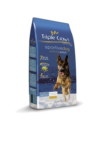 TRIPLE CROWN Pienso para Perros Adultos con Alta Actividad Sportive...