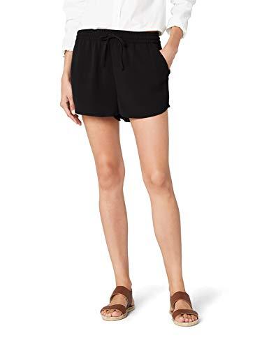 ONLY Damen Onlturner WVN Noos Shorts, Schwarz Black, W(Herstellergröße: 36)