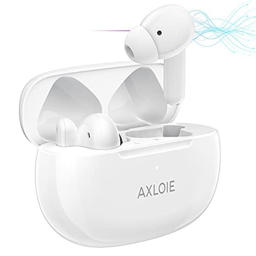 AXLOIE Cuffie Bluetooth, ANC Auricolari Wireless...