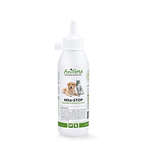 Polvos antigarrapatas, de Aniforte, 250 gTratamiento antipulgas para...