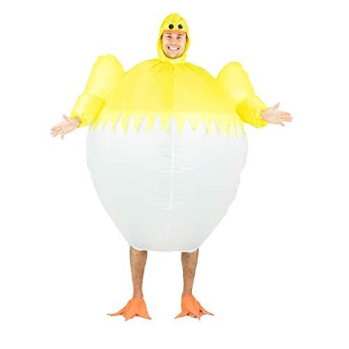 Bodysocks® Disfraz Hinchable de Pollito Adulto