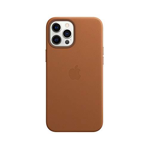 MagSafe対応iPhone 12 Pro Maxレザーケース - サドルブラウン