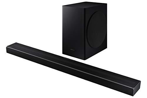 Samsung Barre de Son HW-Q60T - Son 360W, 5.1Ch, Subwoofer sans Fil, Dolby Digital 5.1, DTS Virtual:X, Q-Symphony et Technologie Acoustic Beam