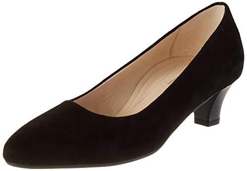 Gabor Shoes Comfort Fashion, Zapatos de Tacón para Mujer, Negro (Schwarz 47), 38 EU