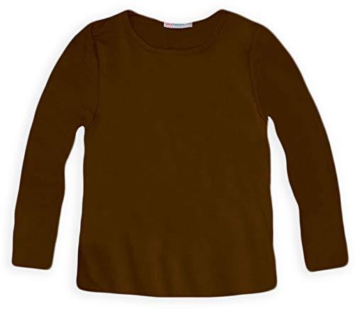 Jolly Rascals Plainls Camiseta, Marrón (Brown), 13-14 Años para Niñas