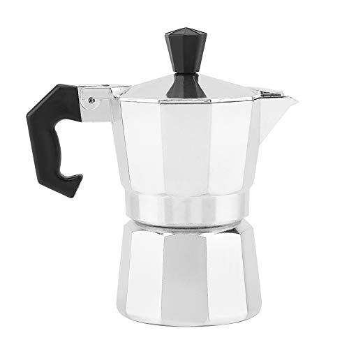 fosa Máquina de café Espresso Stovetop, 30 ML 1 Taza de Moka Pot, café exprés y cafetera para...