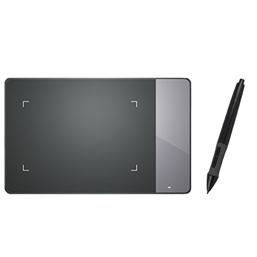 Huion 4x2.23 inches USB Art Design Graphics Drawing Tablet Board Digital Pen with Kenting Cleaning Cloth 420
