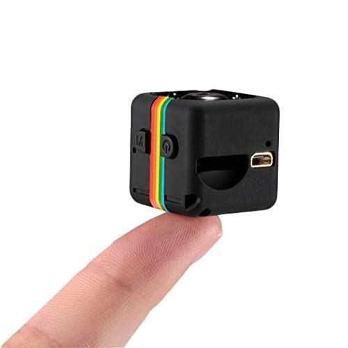 Tamlltide Mini videocamera SQ11 HD 1080P Videocamera Sport Mini DV Videoregistratore Spia Telecamere con visio