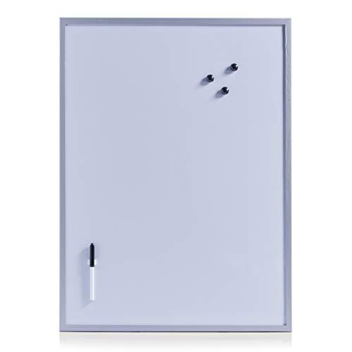 Zeller 11510 Lavagnetta magnetica, 60 x 80 cm, colore: Grigio, grigio alluminio
