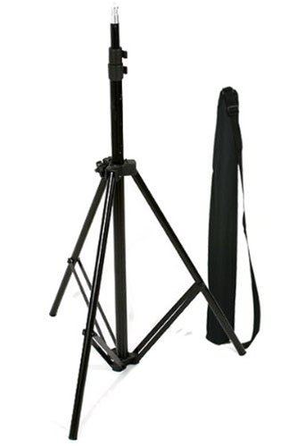 CowboyStudio Aluminum Adjustable Light Stand with Case