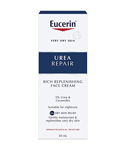 Eucerin Dry Skin Replenishing Face Cream Night 5% Urea With Lactate 50Ml