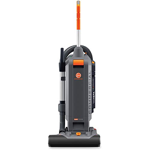 Hoover Commercial HushTone Upright Vacuum Cleaner, 15 inches with...