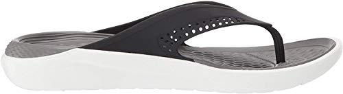 Crocs Literide Flip, Infradito Unisex Adulto, Multicolore (Black/Smoke 05m), 43-44 EU