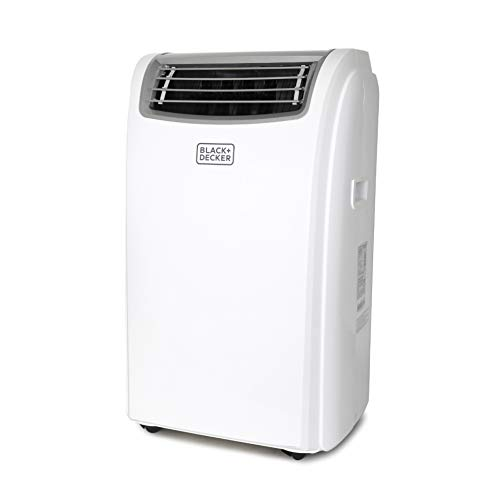 BLACK+DECKER BPACT14HWT Portable Air Conditioner with Heat and Remote Control 7,500 BTU DOE (14,000 BTU ASHRAE), Cools Up to 350 Square Feet, White
