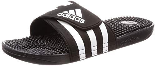 adidas Adissage, Unisex-Erwachsene Dusch- & Badeschuhe, Schwarz (Negro 000), 44.5 EU (10 UK)