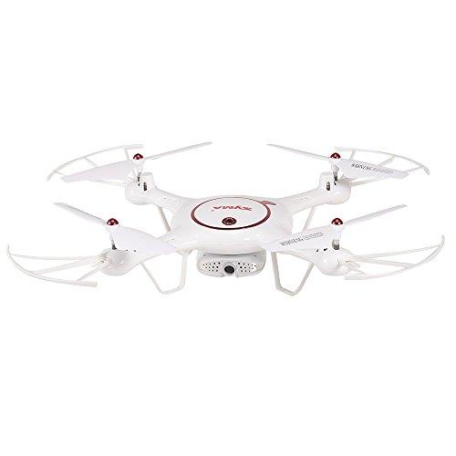 Goolsky Syma X5UW-D Droni WiFi FPV Regolabile 720P HD Fotocamera RTF Flusso Ottico Posizionamento...