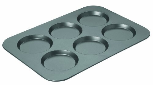 Chicago Metallic Professional Non-Stick Muffin Top Pan, 15.75-Inch-by-11-Inch, Grey, Standard - 16640