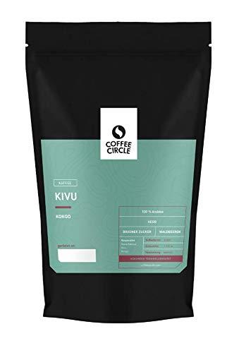 Coffee Circle   Premium Kaffee Kivu   1kg ganze Bohnen   Vollmundiger Filterkaffee mit würzigem Nachgeschmack   100% Arabica Blend   fair & direkt gehandelt   frisch & schonend geröstet