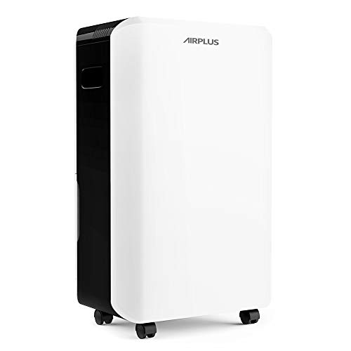 AIRPLUS 70 Pints Dehumidifier, Great Dehumidifiers for Basements, Efficient and Quick Moisture Removal with Continuous Drainage, Intelligent Control, Superior Dehumidifiers for Home