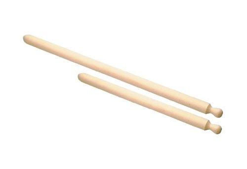 Panetta Casalinghi Holz-Teigrolle mit One Grip, beige, 4,5x 100cm, Holz, beige, 4.5 x 80 cm