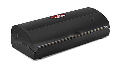 Reber Apparecchio per confezionamento sottovuoto automatico VacuMax 100 MX 100, 850mb, 18lt/min, 180W, nero